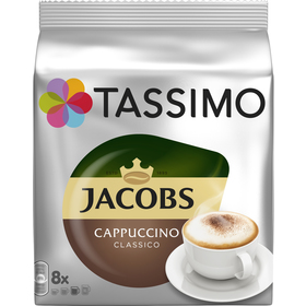 TASSIMO CAPPUCCINO (NÁPLŇ) JACOBS KRÖN.