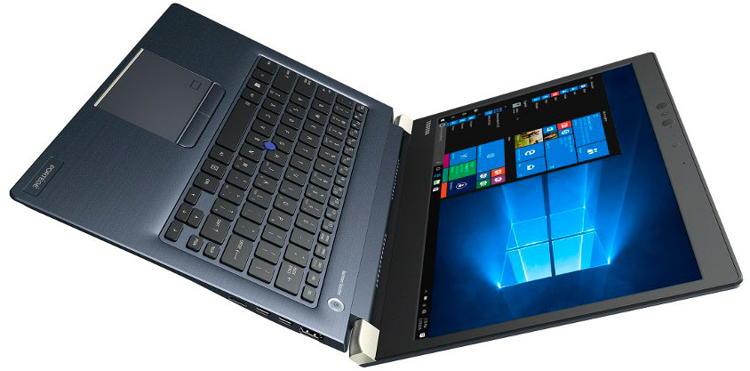 """TOSHIBA Portégé X30-D-12M i5-7200U/8 GB/256 GB SSD M.2/HD Graphics 620/13.3"""" FHD Touch matný/W10 Pro/Blue/Black"""