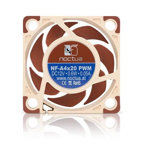 Noctua NF-A4x20-PWM, 40x40x20mm, 4-pin, 5000/1200 RPM