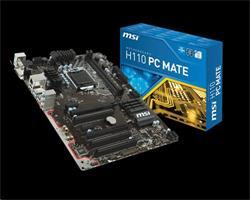 MSI H110 PC MATE/Intel H110/LGA 1151/DDR4/ATX