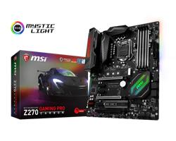 MSI Z270 GAMING PRO CARBON/Socket 1151/DDR4/USB3.1/DVI-D/HDMI/I219-V/ATX