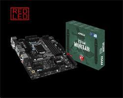 MSI Z170M MORTAR/Socket 1151/DDR4/USB3/DSUB/DVI/HDMI/RTL8111H/uATX
