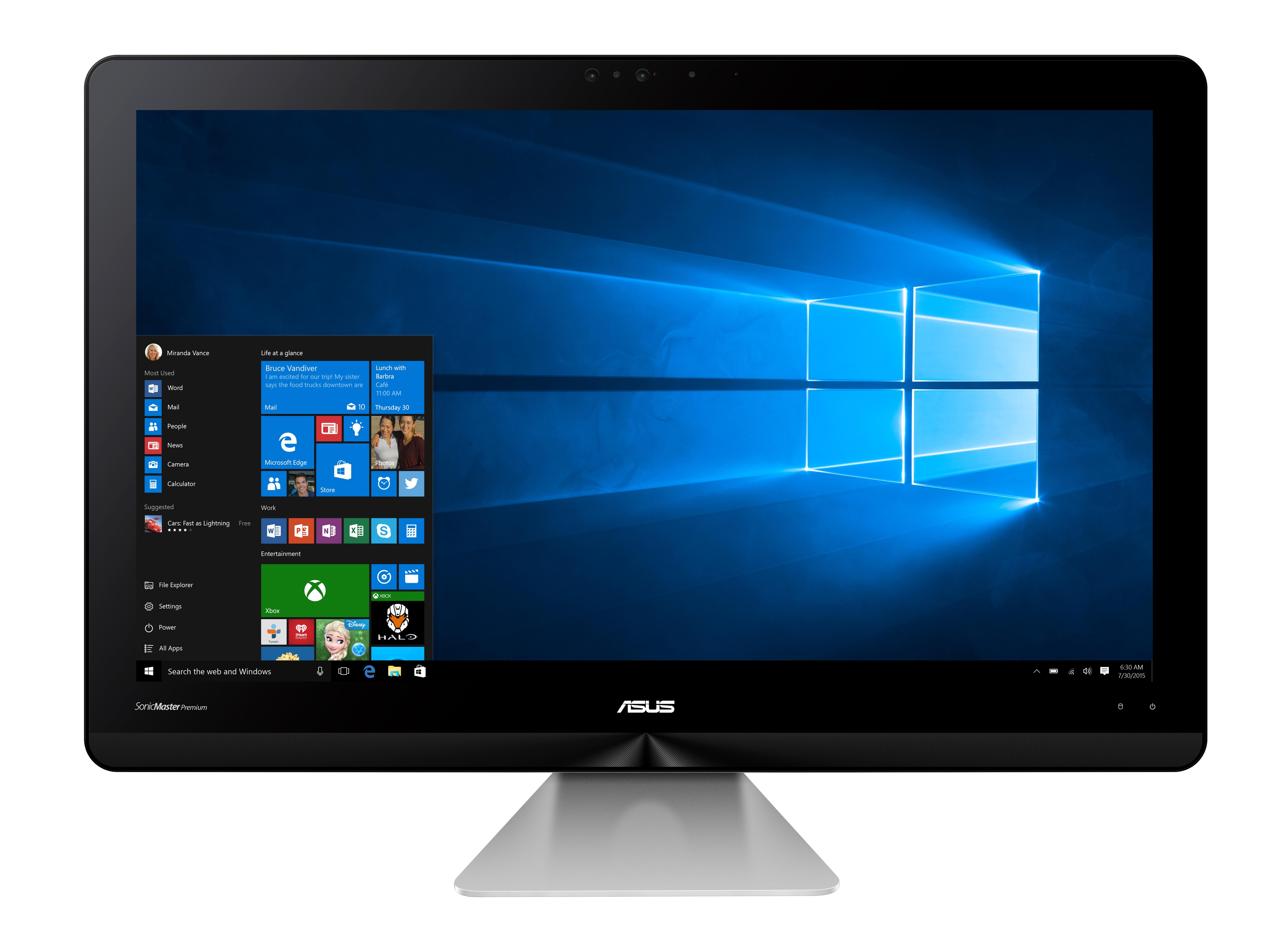 ASUS AIO ZN241 24/i5-7200U/1TB+128GB SSD/8G/W10