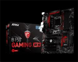 MSI B150 GAMING M3/Socket 1151/DDR4/USB3/DVI/HDMI/Killer E2400/ATX