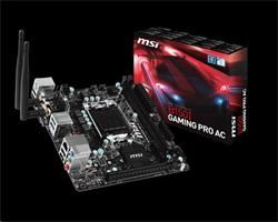 MSI B150I GAMING PRO AC/Intel B150/LGA 1151/DDR4/Mini-ITX