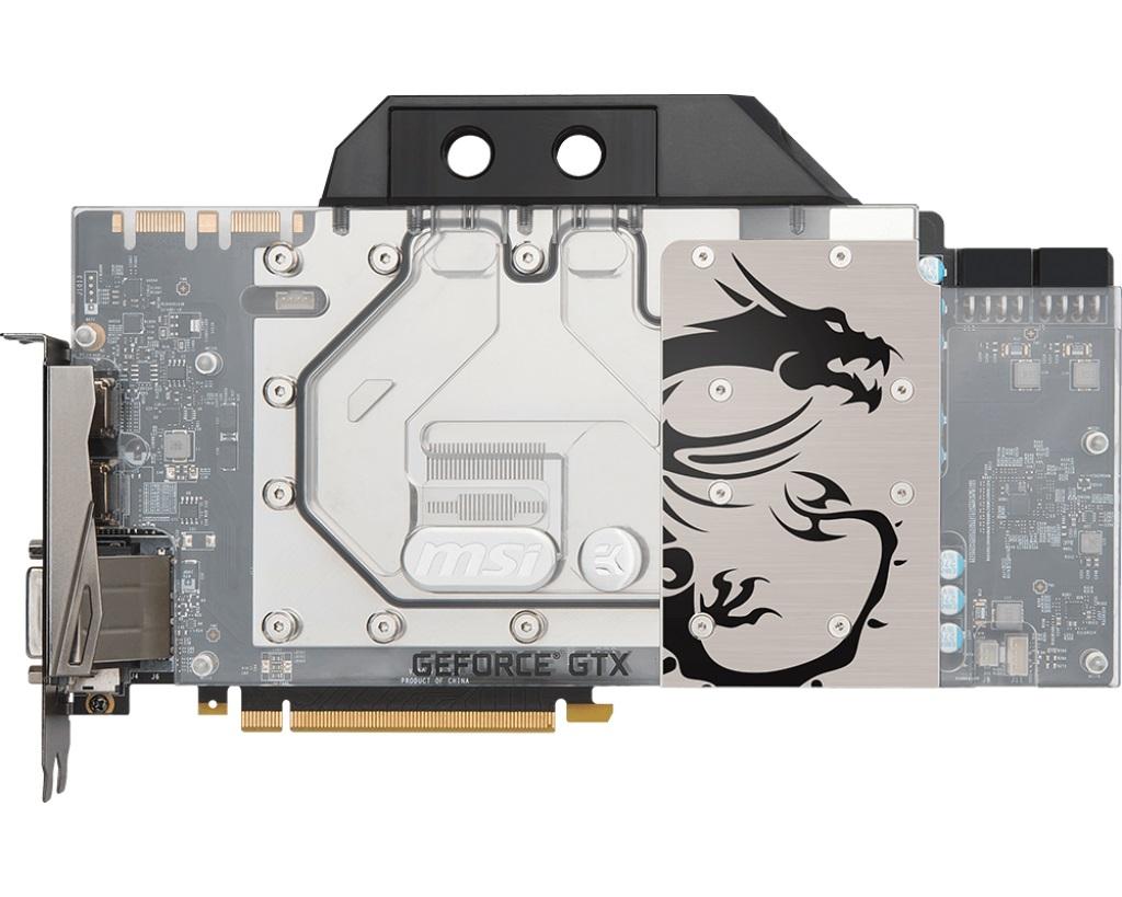MSI GeForce GTX 1080 Ti SEA HAWK EK X 11GB GDDR5X HDMI, DVI, DP
