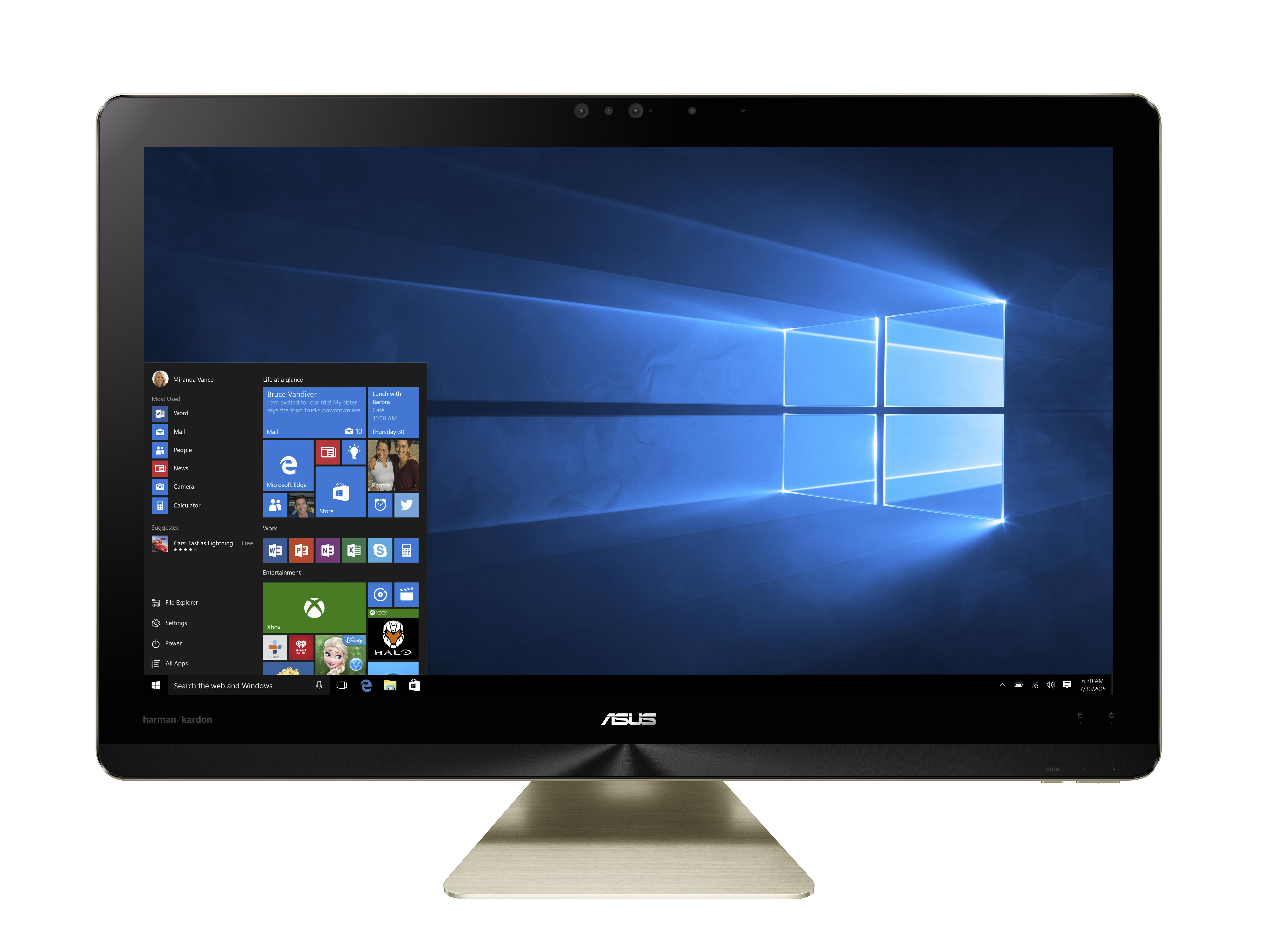 ASUS AIO Z240 24/i7-77100T/1TB+128 SSD/16G/W10
