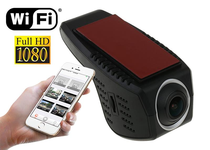 U-Drive WIFI - Car digital video recorder FULL HD. Dashcam type, 1080p,