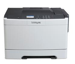 Lexmark CS417dn, color laser, 4800dpi, 30ppm, 256MB, 800MHz, USB, Duplex, Lan