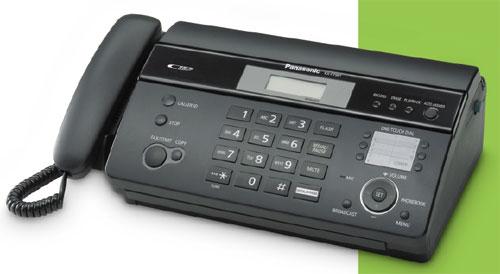 Panasonic KX-FT988FX-B, termální fax/tel./záznamník, černý
