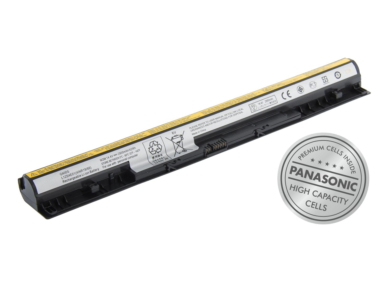Náhradní baterie AVACOM Lenovo IdeaPad G400S Li-Ion 14,8V 2900mAh