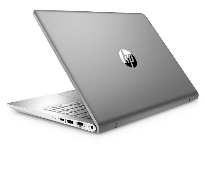"""HP Pavilion 14-bf003nc/Intel i5-7200U/8GB/128GB SSD M.2 + 1TB/Nvidia GF 940 MX 4GB/14"""" FHD/Win 10/stříbrná"""