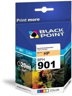 Ink Black Point BPH901 | Color | 20 ml | HP CC656AE