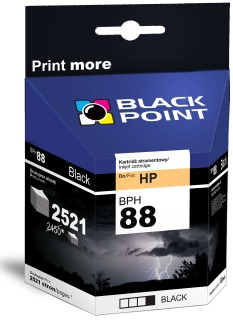 Ink Black Point BPH88BK | Black | 69 ml | 2521 p. | HP C9396