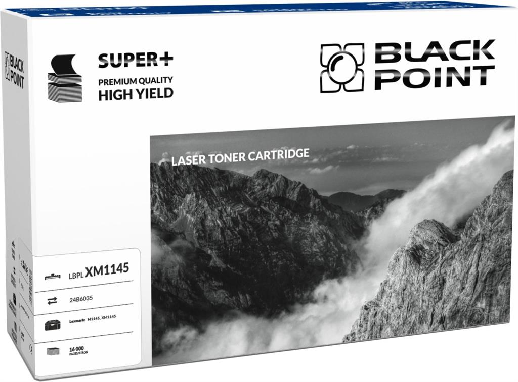 Toner Black Point LBPLXM1145 | black | 16 000 pp | Lexmark M1145 / XM1145