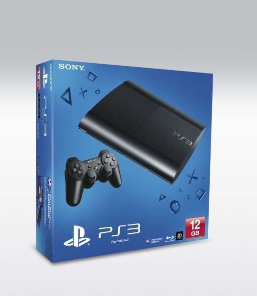 SONY PlayStation 3 - 12GB, ENG verze bez AC kabelu