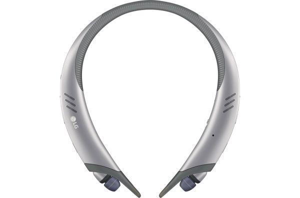 LG HBS-A100 Sportovní bezdrátová Stereo sluchátka stříbrná
