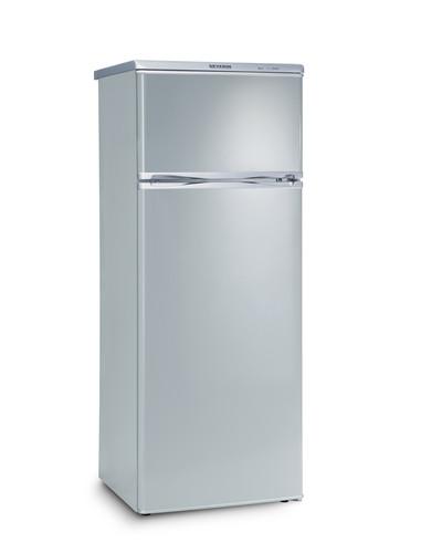 KS 9793 Kombi. chladnička 212+46l stříbr