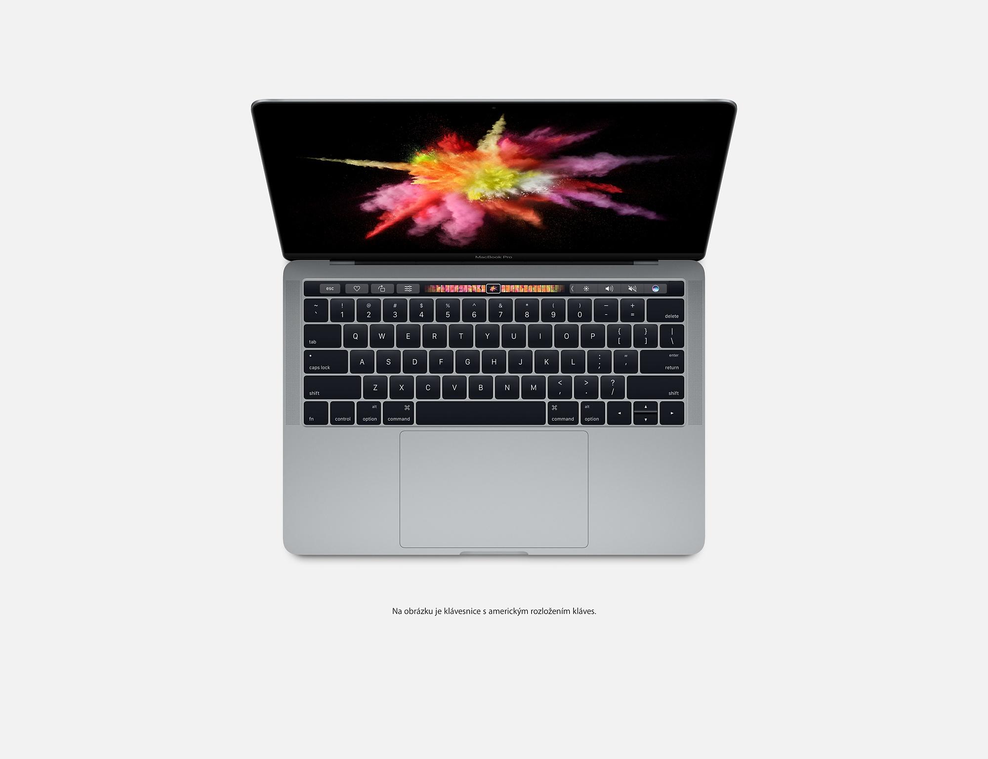 """Apple MacBook Pro 13,3"""" Touch Bar/IPS Retina 2560x1600/DC i5 2.9-3.3GHz/8GB/256GB_SSD/Iris 550/CZ/Space Gray"""
