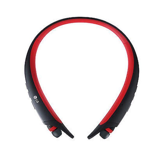 LG HBS-A80 Sportovní bezdrátová Stereo sluchátka červená