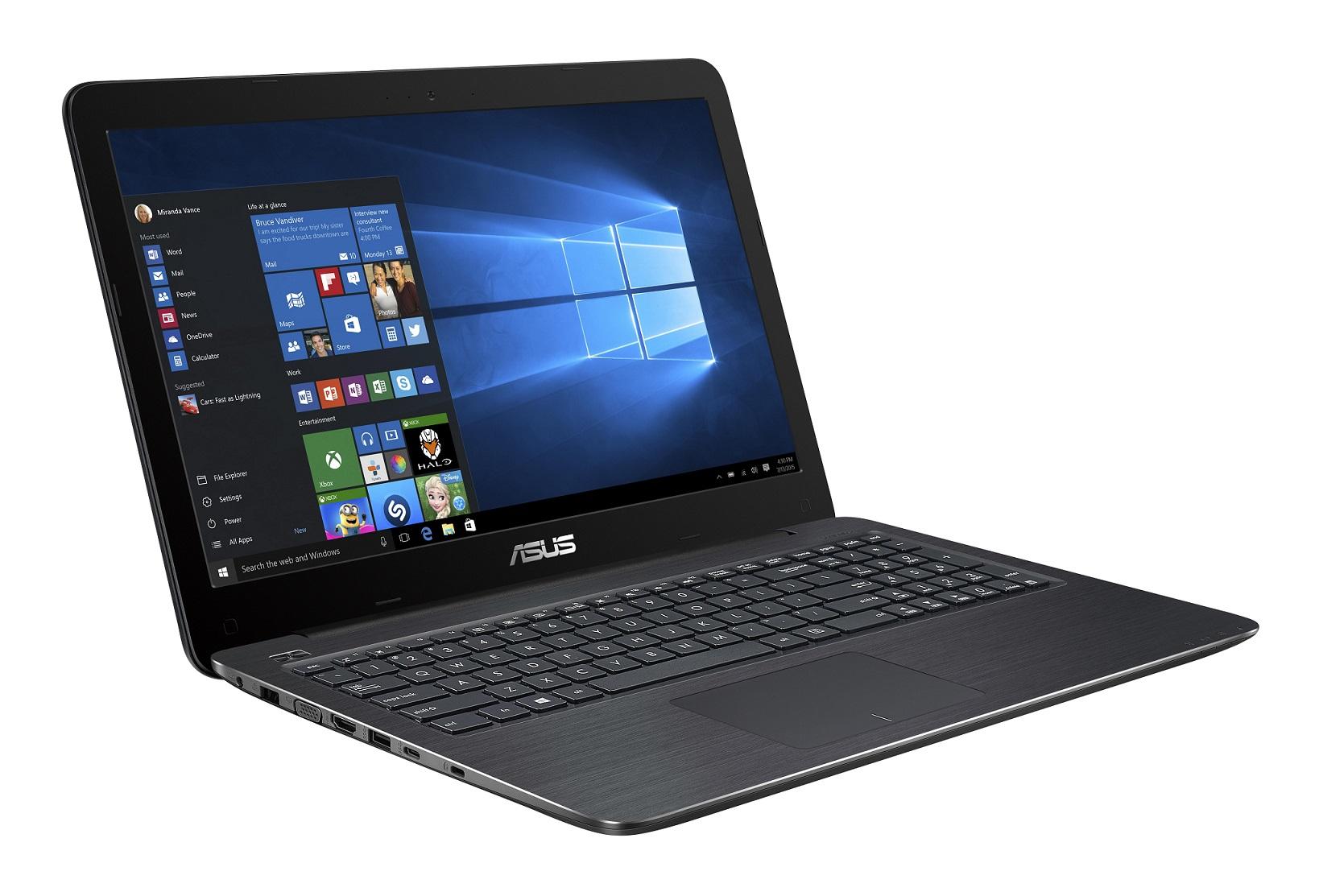 ASUS F556UQ 15.6/i7-7500U/256SSD/8G/NV/W10, hnědý