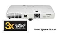 EPSON projektor EB-1761W, 1280x800, 2600ANSI, 2000:1, HDMI, PC Free, USB 3-in-1, REPRO 1W, 1.7kg, PŘENOSNÝ