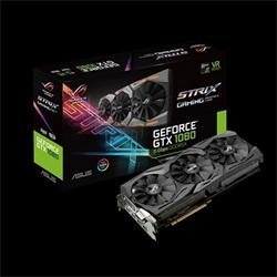 ASUS ROG-STRIX-GTX1080-A8G-11GBPS 8GB/256-bit, GDDR5X, DVI, 2xHDMI, 2xDP