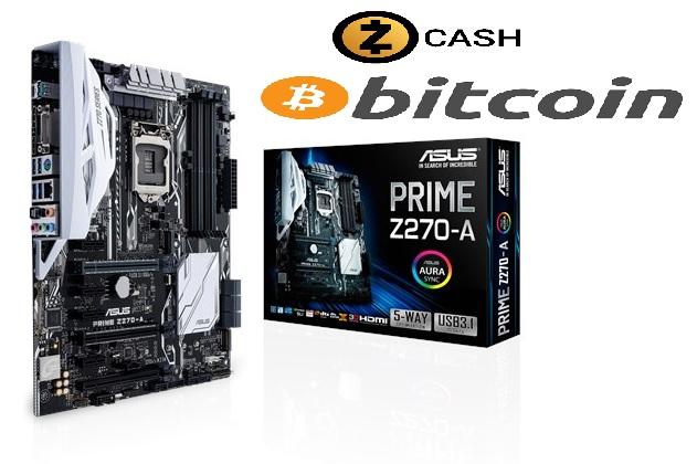 ASUS PRIME Z270-A, s.1151, Z270, 4xDDR4, PCIe 3.0x16, SATAIII, USB 3.1, M.2, ATX