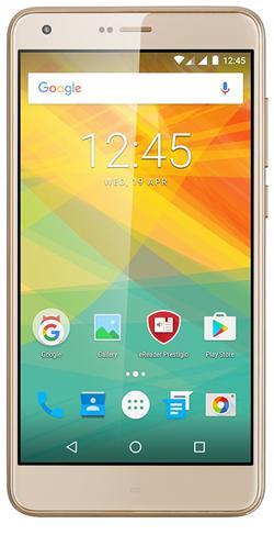 "PRESTIGIO Grace S7,5.5""IPS 2.5D,Asahi,DualSIM,Android 7,QC 1,25GHz, 1280*720, 16GB ROM,2GB RAM,13+8Mpx,LTE,5000mAh,zlatý"