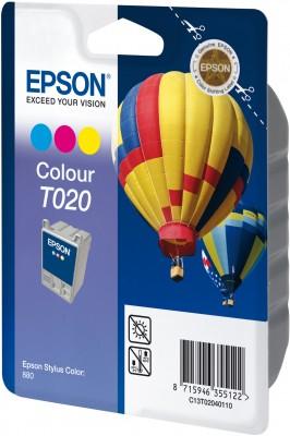 Inkoust Epson T020 color | Stylus Color 880