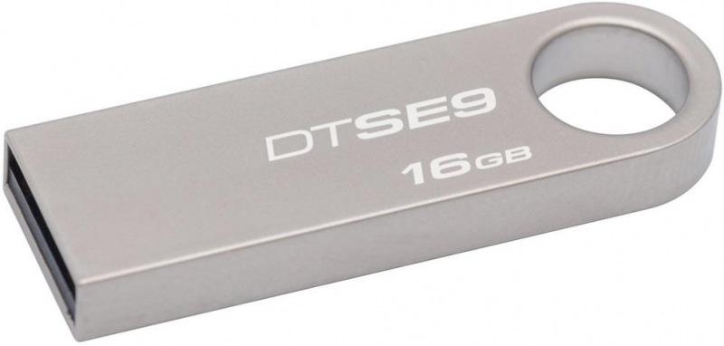 16GB Kingston USB 2.0 DTSE9 pro potisk 100ks bulk