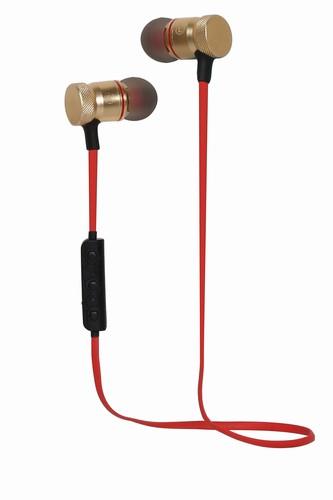 Bluetooth Sluchátka do uší S3 červené
