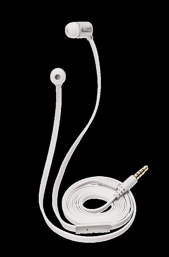 sluchátka do uší TRUST Duga In-Ear- silver