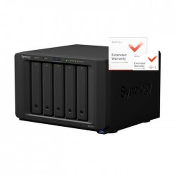 Synology DS1517+ DiskStation, 8GB RAID 5xSATA server, 4xGb LAN, rozšířená záruka 5 let