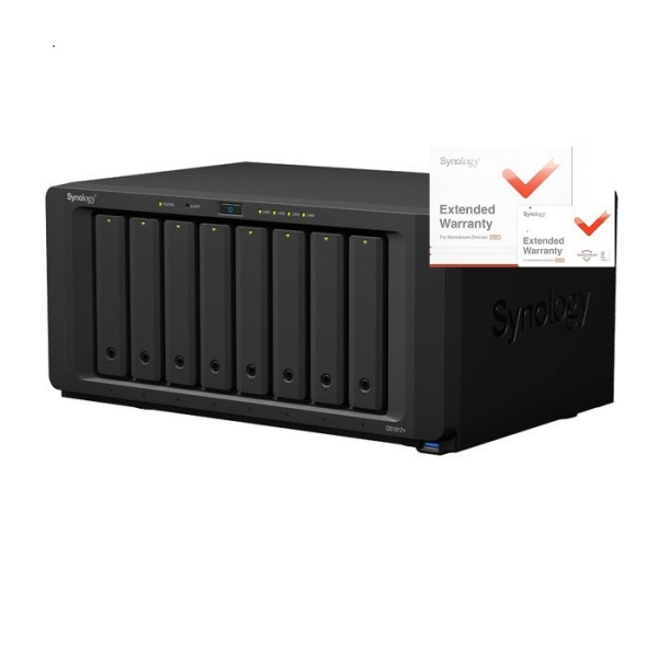 Synology DS1817 DiskStation, 2GB RAID 8xSATA server, rozšířená záruka 5 let