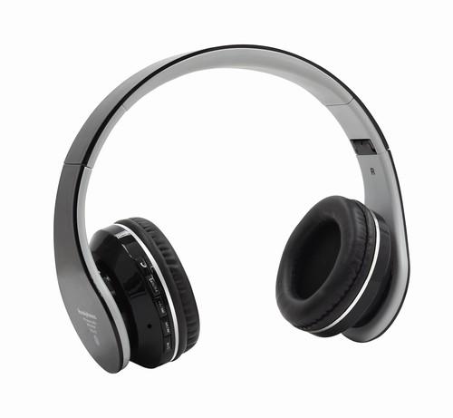 Bluetooth Sluchátka do uší S6 FM rádio,SD/MP3 černá