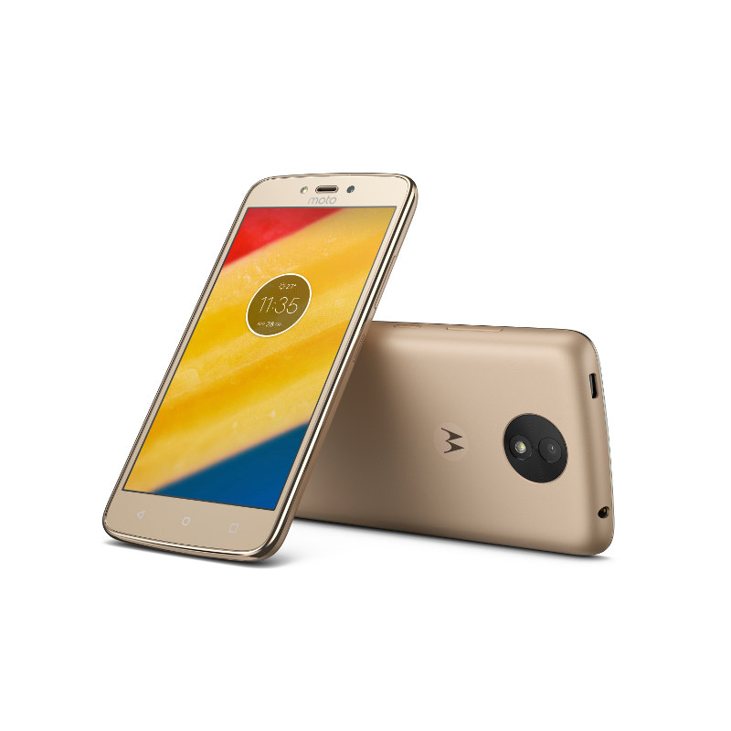 "Motorola Moto C Plus Dual SIM/5"" IPS/1280x720/Quad-Core/1,3GHz/2GB/16GB/8Mpx/LTE/Android 7.0/Fine Gold"