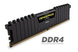 Corsair DDR4 16GB (Kit 2x8GB) Vengeance LPX DIMM 3000MHz CL15 červená