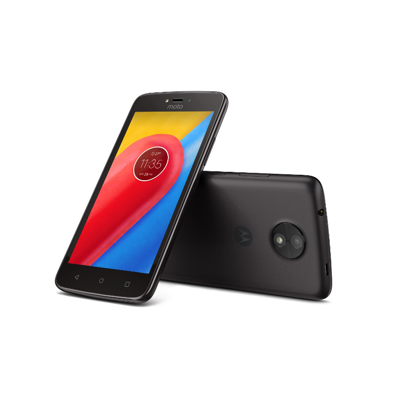 "Motorola Moto C Dual SIM/5"" TN/854x480/Quad-Core/1,1GHz/1GB/16GB/5Mpx/LTE/Android 7.0/Starry Black"