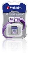 VERBATIM SecureDigital SDHC 16GB Class4