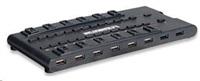 MANHATTAN USB 3.0 hub MondoHub, 28 portů (24x USB 2.0 + 4x USB 3.0)