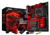 MSI MB Sc LGA2011-3, X99A GODLIKE GAMING, Intel X99, 8xDDR4, SATA3, USB3.1, GbLAN, WiFi, BT, E-ATX