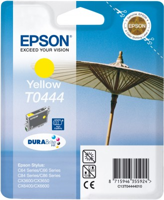 Inkoust Epson T0454 yellow | Stylus C64/66/66 Photo Edition/84/84N/84WiFi/86,CX3