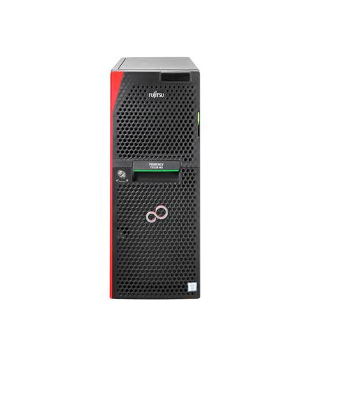 """Fujitsu PRIMERGY TX1330M3/F 4x3,5""""/ E3-1220v6 4C/4T 3.00 GHz/8GB/DVD-RW/bez HDD//KIT/2xGL/Standard SV"""