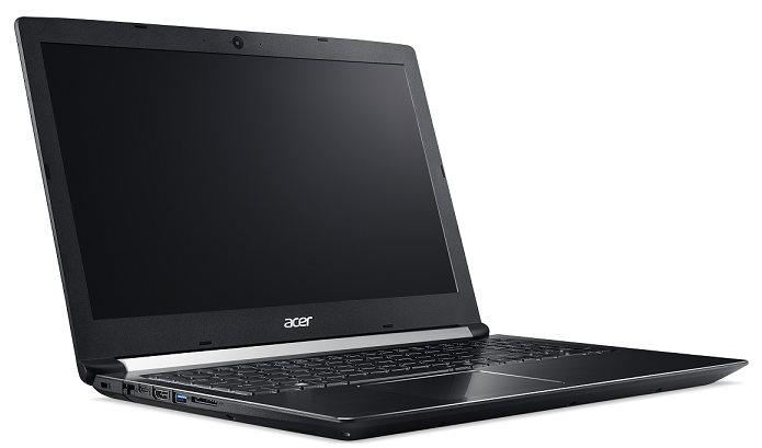 "Acer Aspire 7 (A715-71G-52GT) i5-7300HQ/8 GB+N/256GB SSD M.2+N/GTX 1050 2GB/15.6"" FHD IPS LED matný/W10Home/Black"