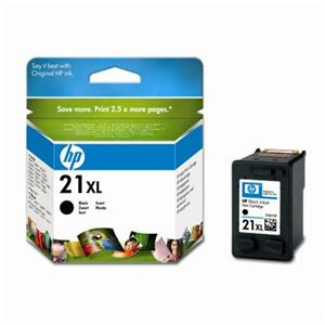 HP C9351CE Ink Cart No.21XL pro DJ 3920, 3940, D1360, D2360,F380, 12ml, Black