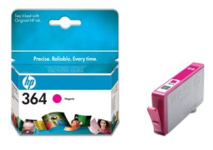 HP CB319EE Ink Cart No.364 pro D5460, C5380, 3ml, Magenta
