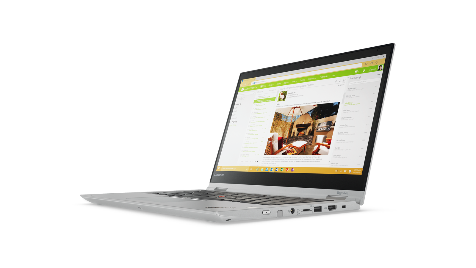 "Lenovo ThinkPad YOGA 370 i5-7200U/8GB/512GB SSD/HD Graphics 620/13,3""FHD IPS multitouch/Win10PRO/Silver"