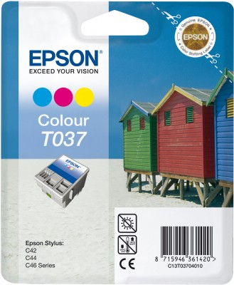 EPSON cartridge T0370 color (domky)