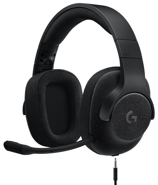 Logitech náhlavní souprava G433 7.1 Surround, černá